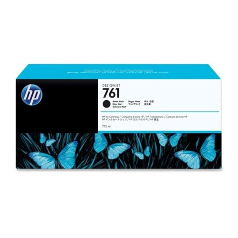 HP - 761 775ml Matte Black Ink Cartridge [CM997A]