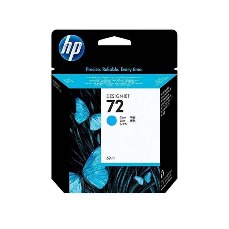 HP - 72 69ml Cyan Ink Cartridge [C9398A]