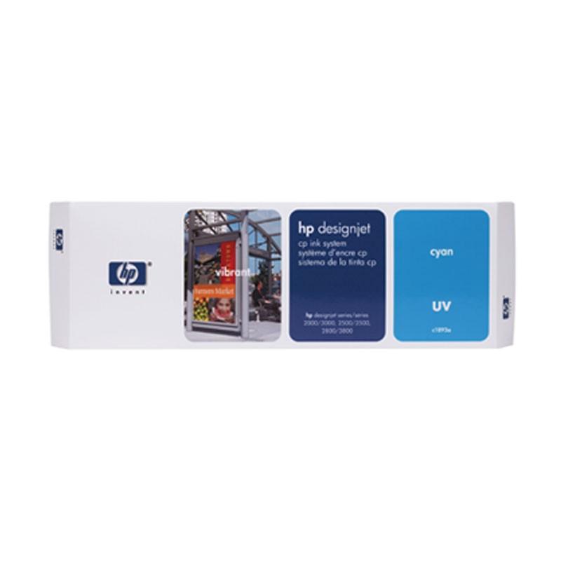 HP - DesignJet CP Ink System UV Cyan [C1893A]