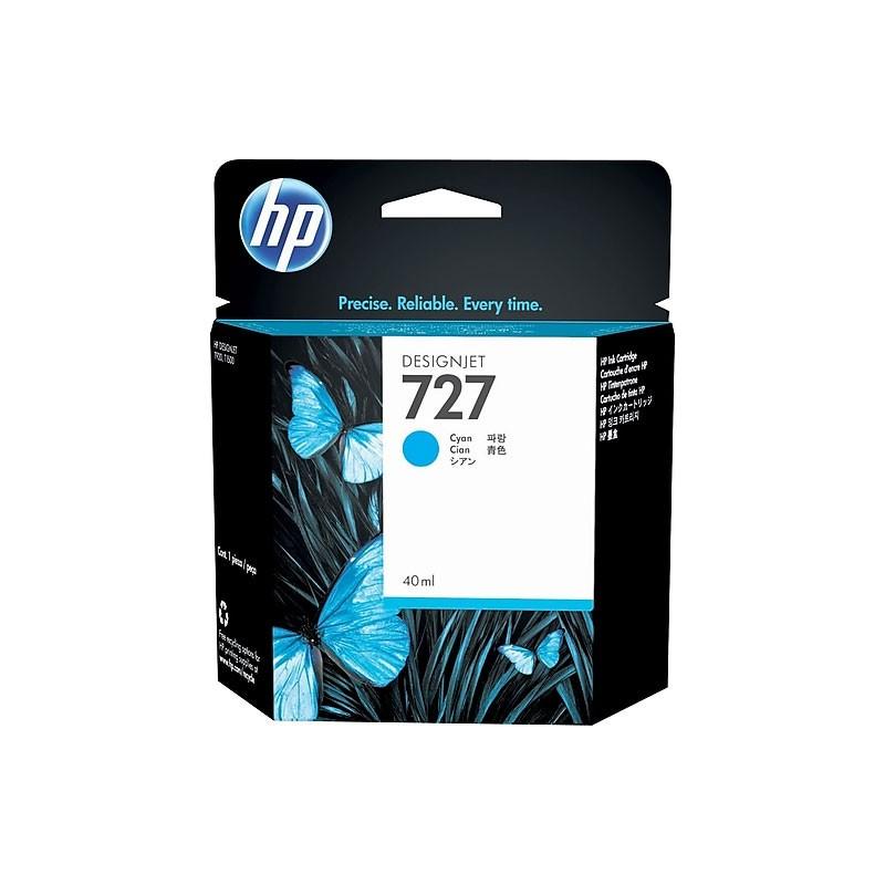 HP - 727 40-ml Cyan Ink Cartridge [B3P13A]