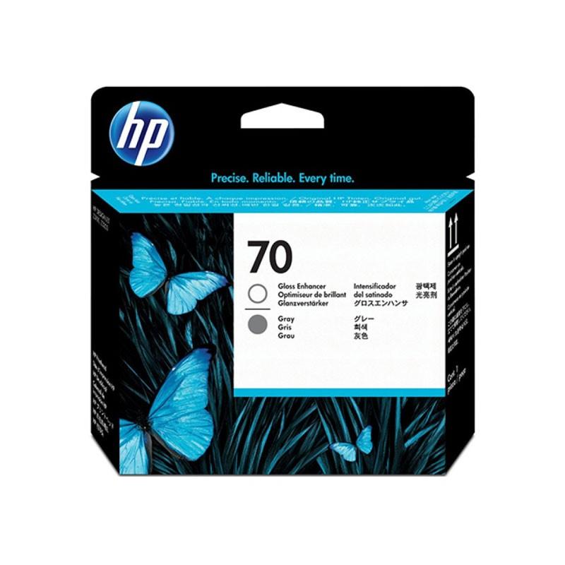 HP - 70 Gloss Enhancer and Gray Printhead [C9410A]