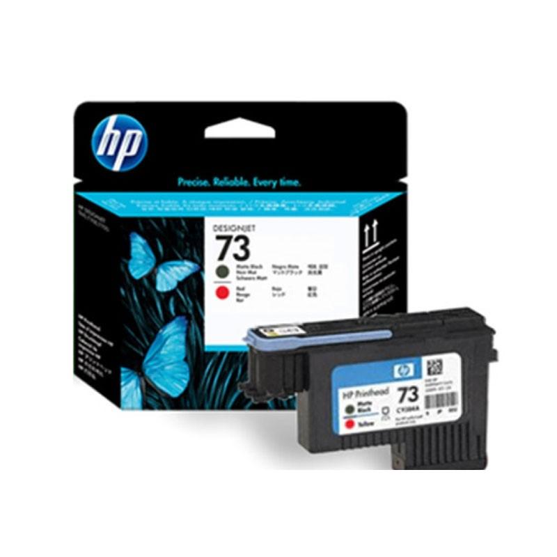 HP - 73 Matte BL & Chromatic Red Printhead [CD949A]