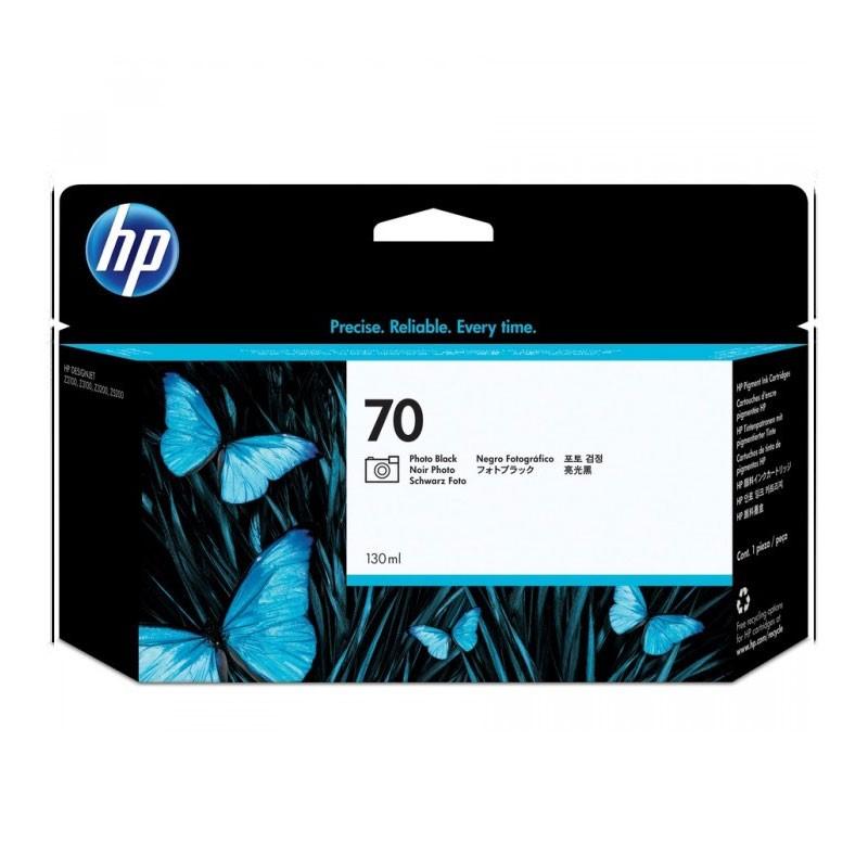 HP - 70 Photo Black 130 ml Ink Cartridge [C9449A]