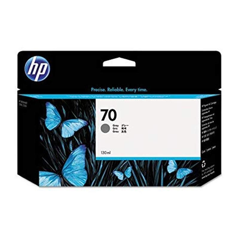HP - 70 Gray 130 ml Ink Cartridge [C9450A]