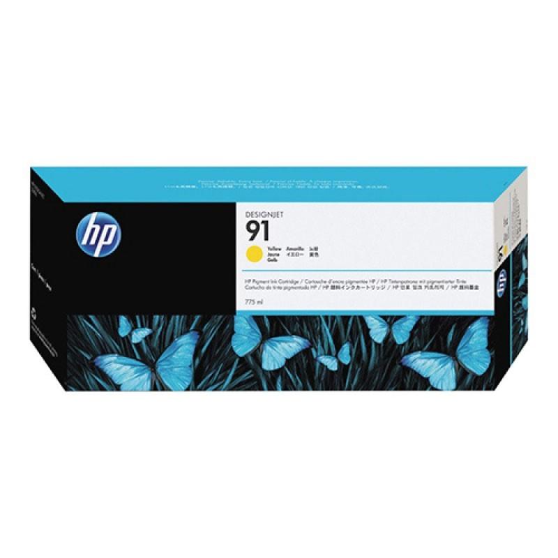 HP - 91 Yellow 775 ml Ink Cartridge [C9469A]