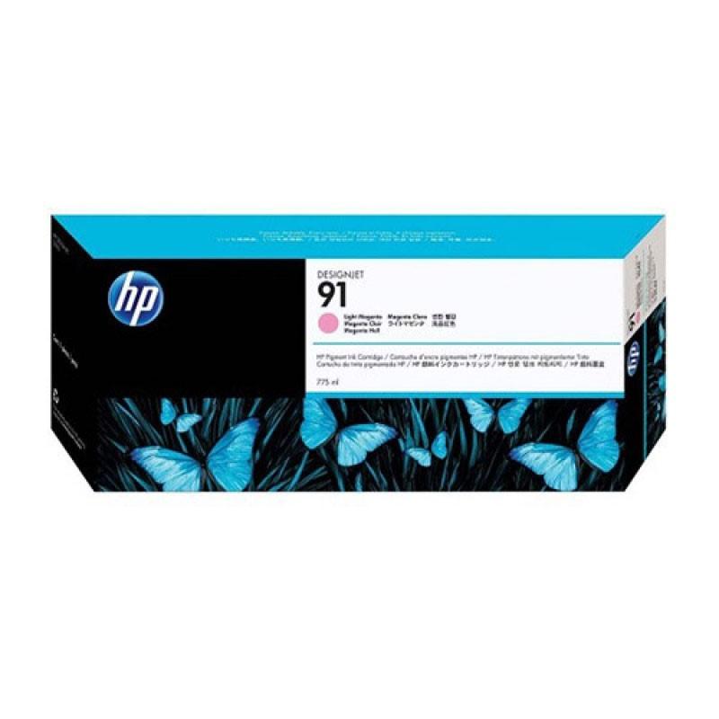 HP - 91 Light Magenta 775 ml Ink Crtg [C9471A]
