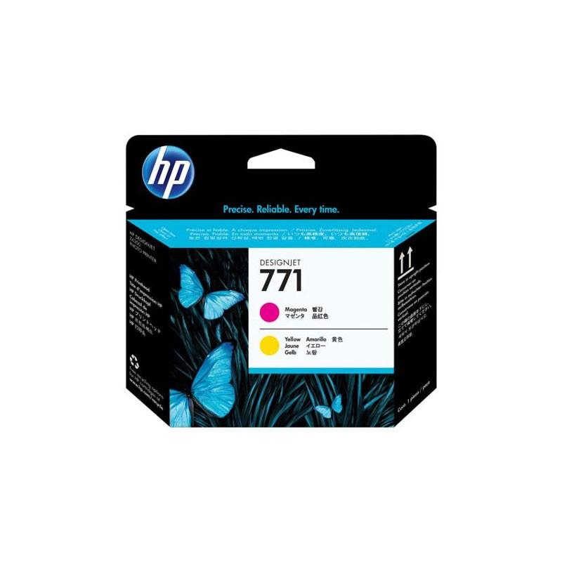 HP - 771 Magenta and Yellow Designjet Printhead [CE018A]