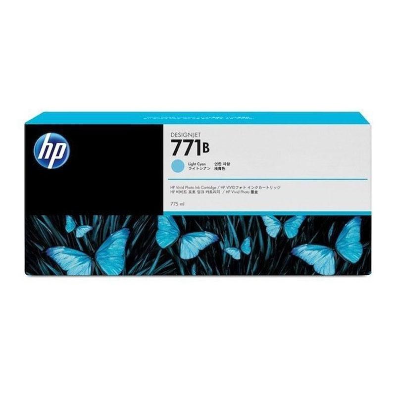HP - 771B 775ml Light Cyan Ink Cartridge [B6Y04A]