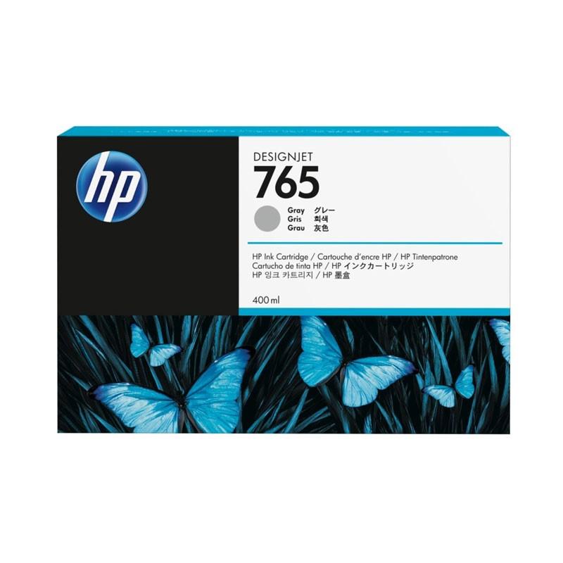 HP - 765 400-ml Gray Ink Cartridge [F9J53A]