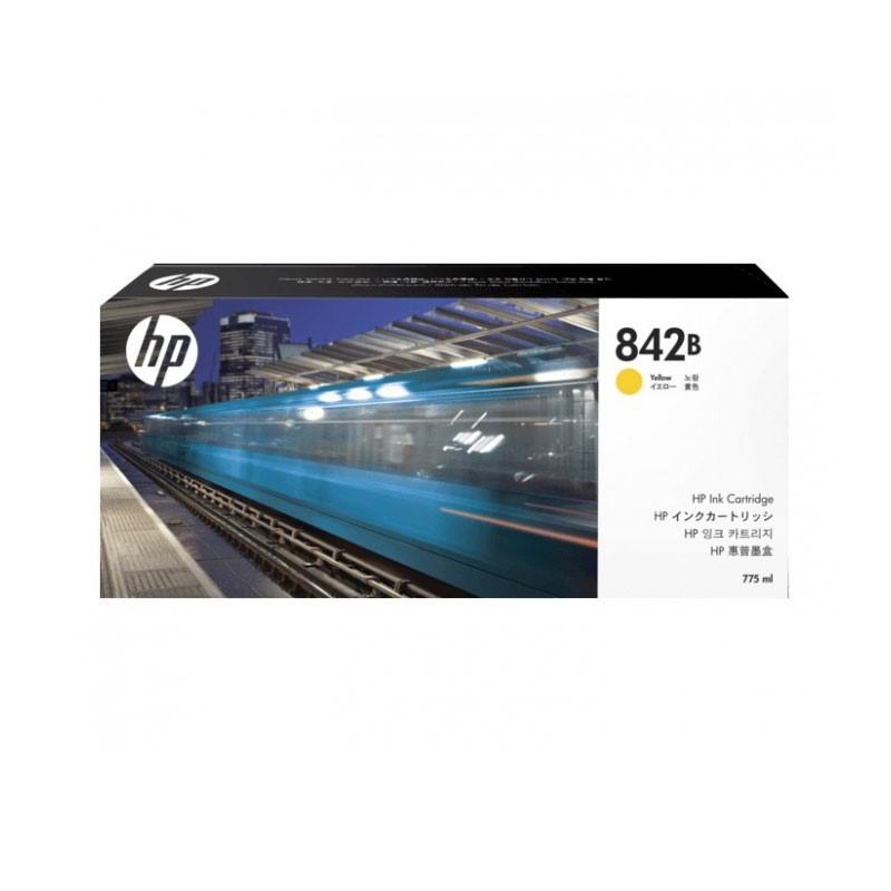 HP - 842B 775-ml Yellow Ink Cartridge [C1Q52A]
