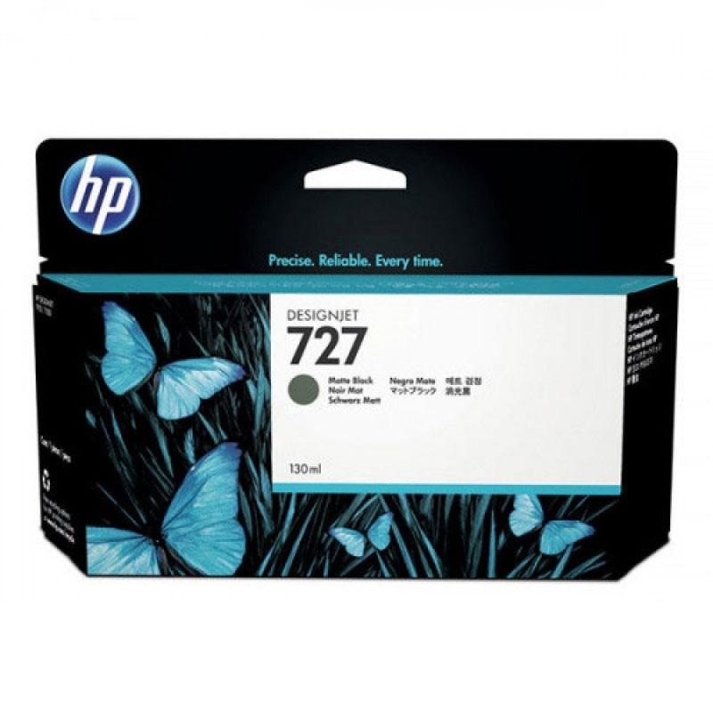 HP - 728 300-ml Matte Black Ink Crtg [F9J68A]
