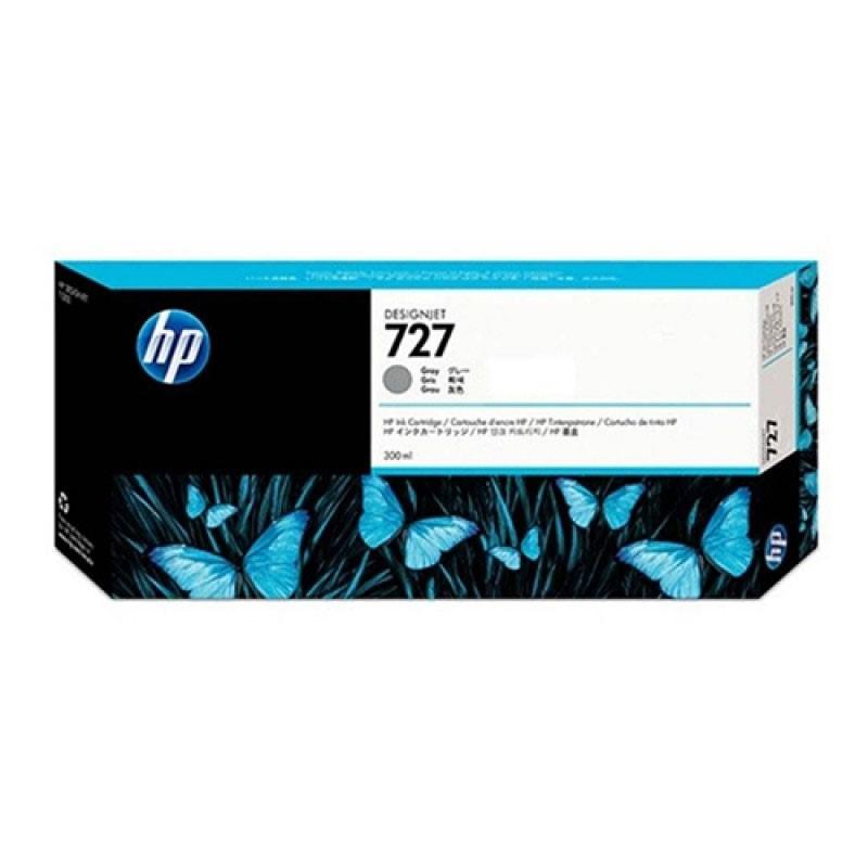 HP - 727 300-ml Gray Ink Cartridge [F9J80A]