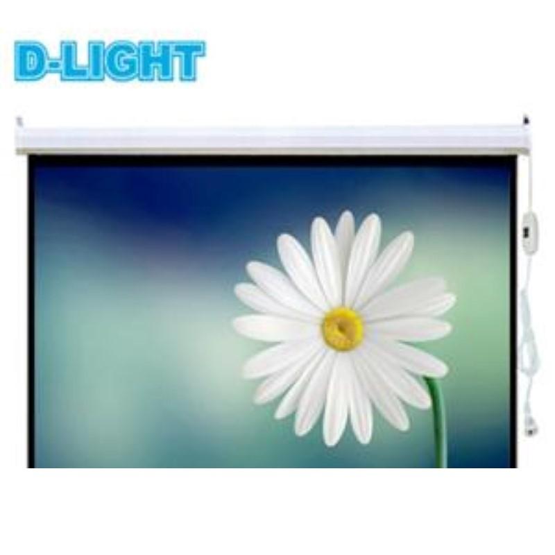 D-LIGHT - Motorized Screen 213x213 cm / 84inchx84inch  [EWSDL2121RL]