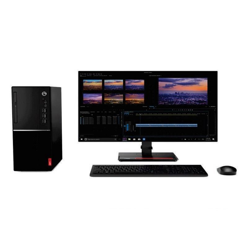 LENOVO - PC V530s-DIA MT (i3-9100/4GB DDR4/1TB HDD/Keyboard, USB Optical Mouse/Intel UHD Graphics/DOS/19.5inch) [10TX009DIA]