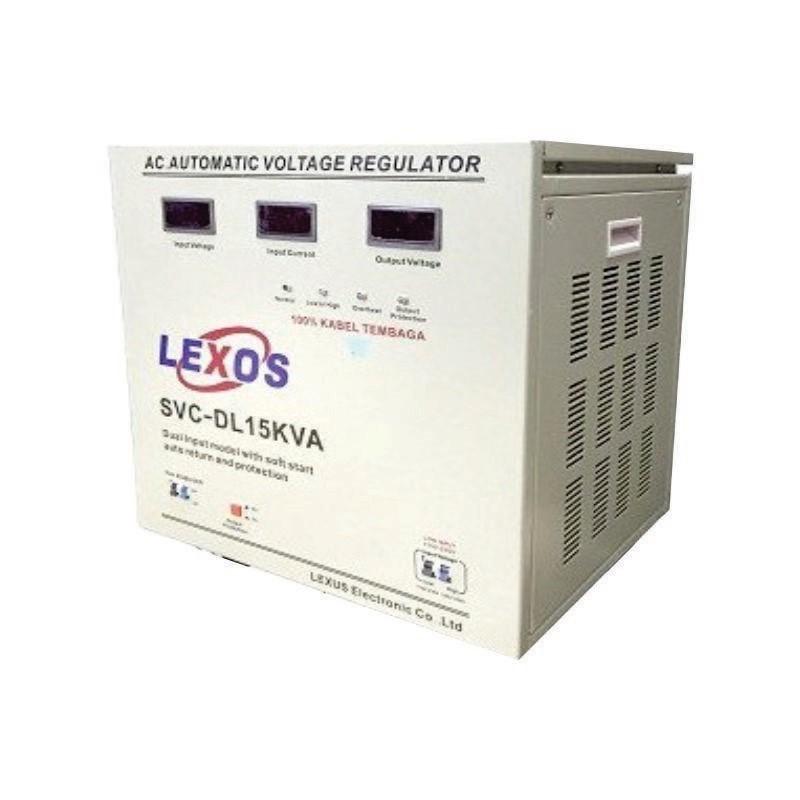 LEXOS - Stabilizer Dual Input 1 Phase ST 15000 SD
