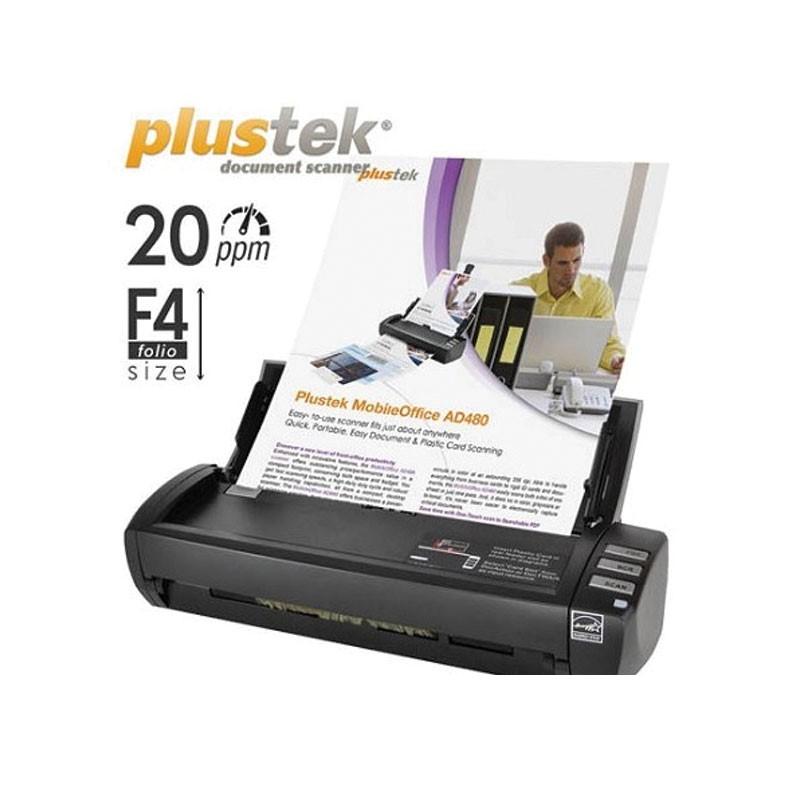 PLUSTEK - Scanner MobileOffice AD480