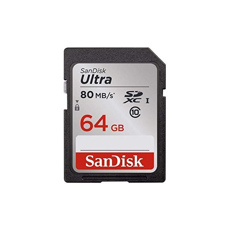 SANDISK - Ultra SDXC 64GB [SDSDUNC-064G-GN6IN]