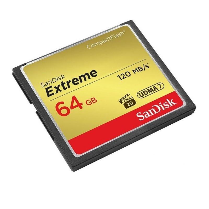 SANDISK - Extreme CF 64GB [SDCFXSB-064G-G46]