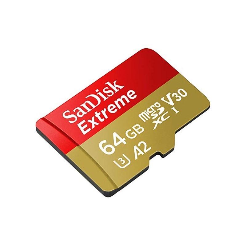 SANDISK - Extreme microSDXC 64GB [SDSQXA2-064G-GN6MA]