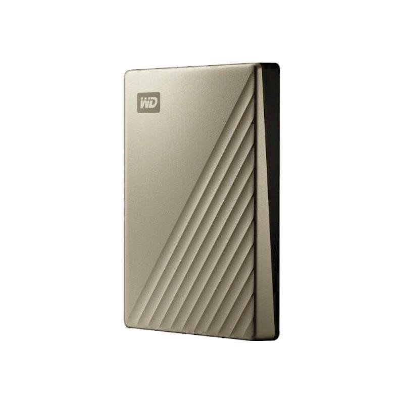 WD - MY PASSPORT ULTRA USB-C 4TB GOLD [WDBFTM0040BGD-WESN]