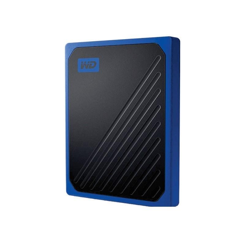 WD - MY PASSPORT GO SSD PORTABLE 1TB COBALT [WDBMCG0010BBT-WESN]