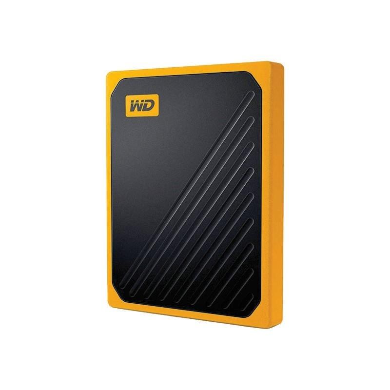 WD - MY PASSPORT GO SSD PORTABLE 1TB AMBER [WDBMCG0010BYT-WESN]