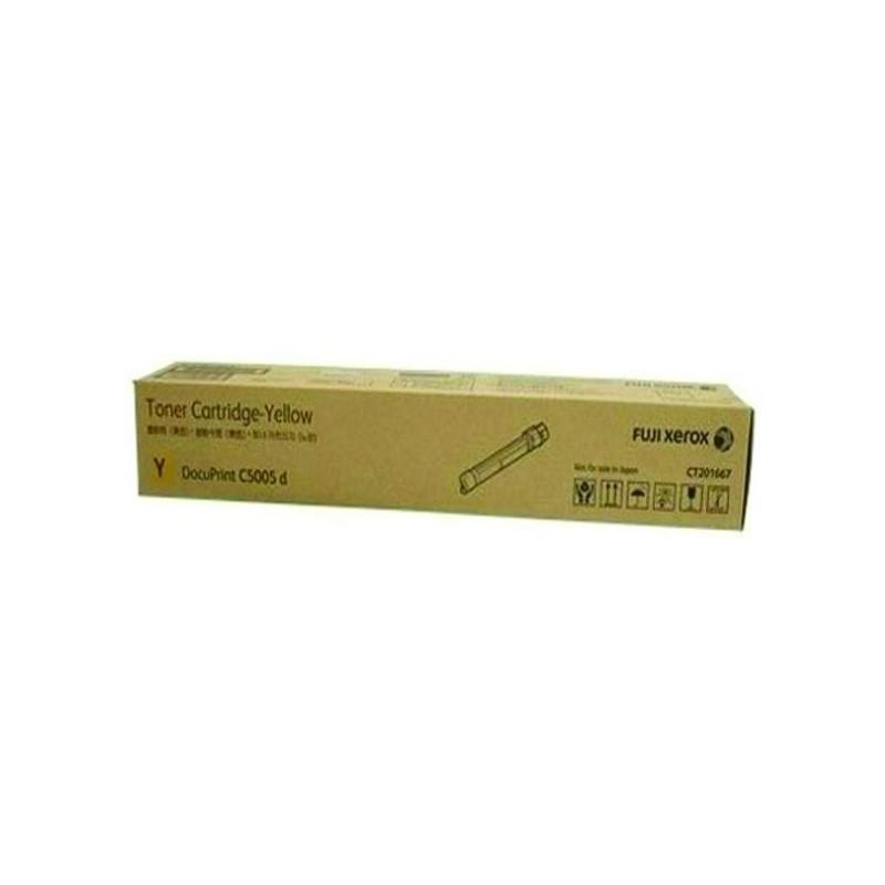 FUJI XEROX - DPC5005d Yellow Toner Cartridge (25k) [CT201667]